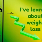 8 Things I've Learned About Weight Loss