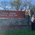 Camping at Georgia Veterans Memorial State Park  January 6-9, 2020